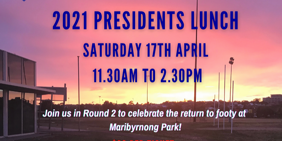 2021 Presidents Lunch