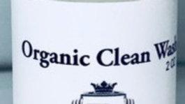 Organic Clean wash