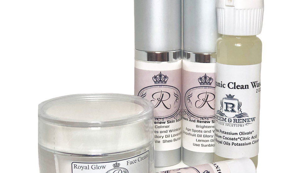 Start/Travel Size Royal Spa Kit