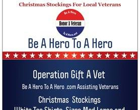 Can you host a Drop Box For our Veterans Operation Gift A Vet is On!