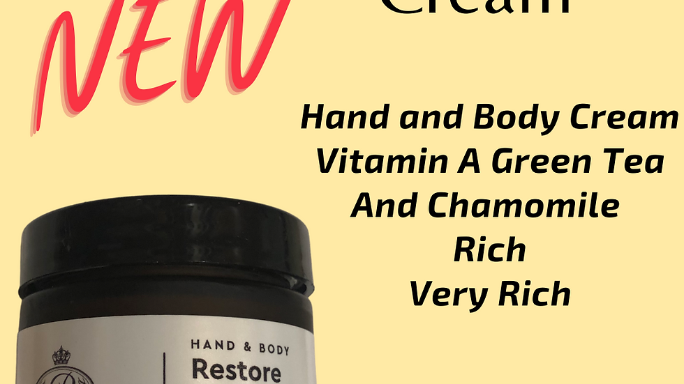 NEW!!! Restore Cream  2 oz