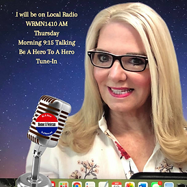 I will be on Local Radio WRMN1410 AM Thursday Morning 915 Talking Be A Hero To A Hero Tune