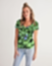 Green Floral Tee.png