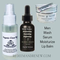 Men Wash Serum Moisturize Lip Balm.png
