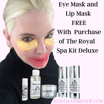 Eye Mask and Lip Mask FREE With Purchase