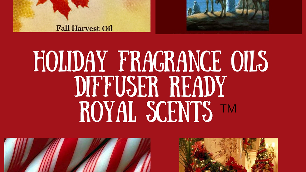 3 Oils Full of Christmas Scent For Diffusers