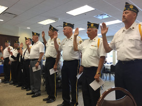 American Legion Post 342 Installation Ceremony 28 July @3 PM