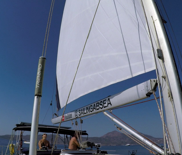 Furling the sail away 2