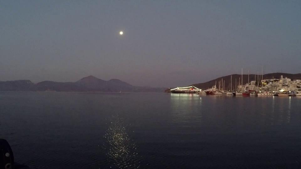 Adamas, Milos at dawn