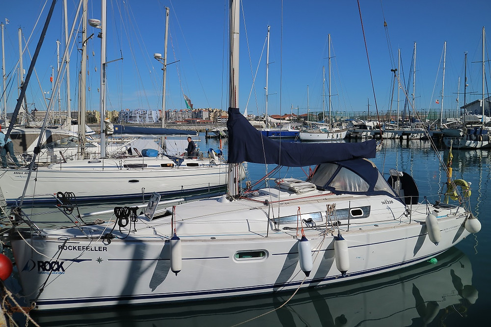 Rockefeller - Pride of the fleet of Rock Sailing Gibraltar