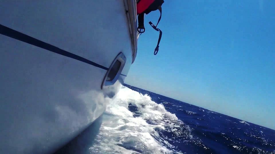 What a sail!