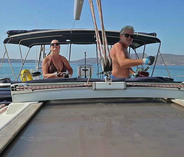 Furling the sail away 3