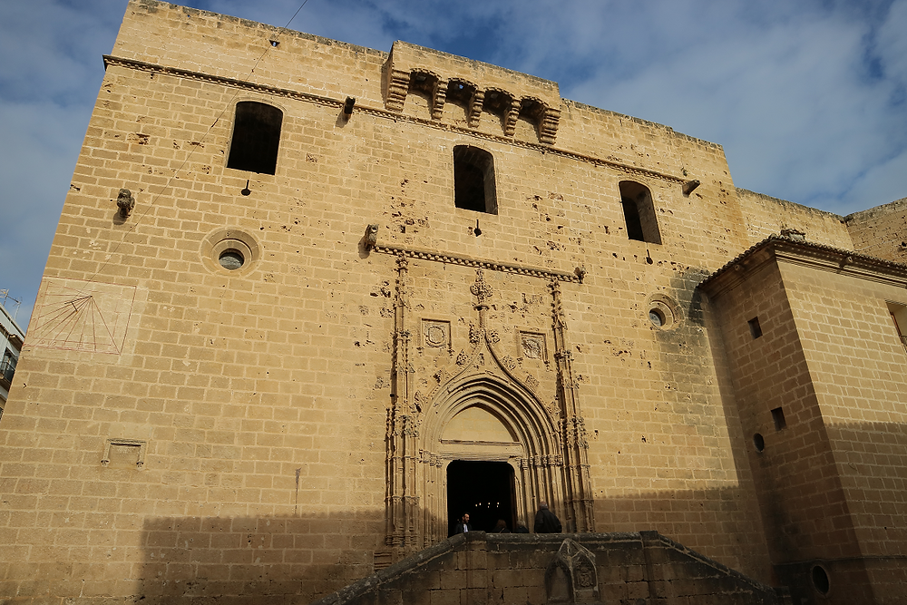 Javea's Fortress-church in the old town