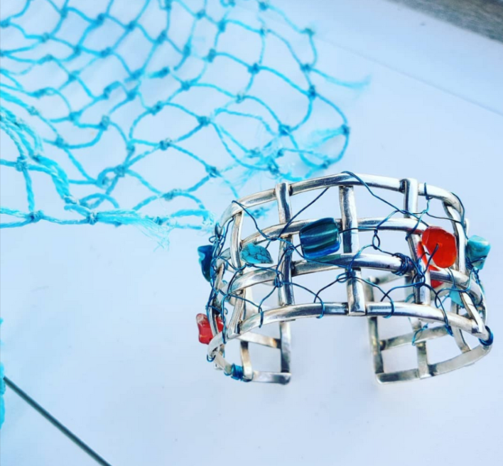 Fishnet bangle