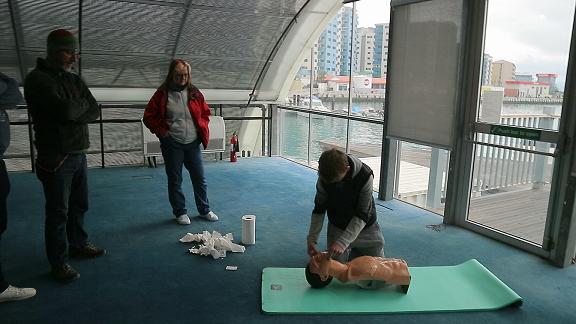 RYA Marine First Aid course