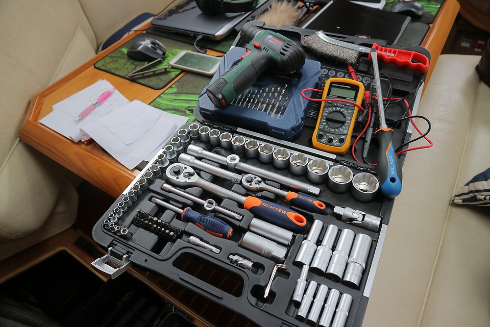 Nice shiny new tools