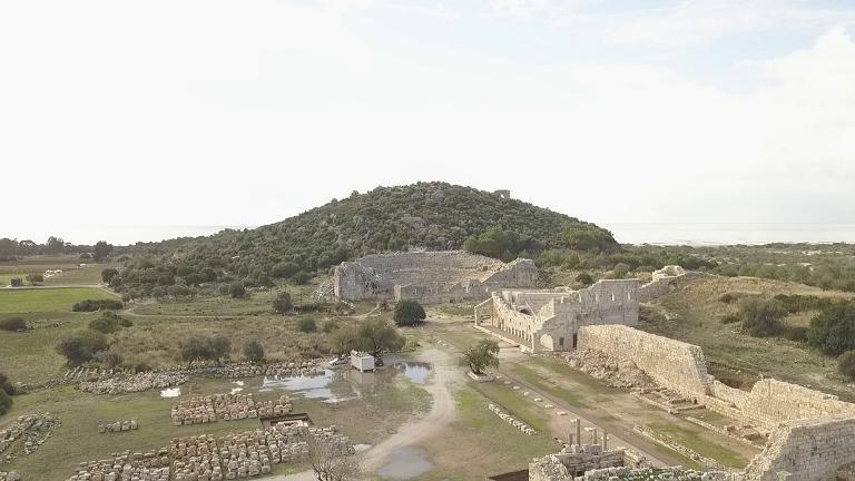 Lycian ruins at Patara