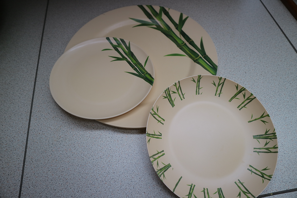 Our bamboo crockery