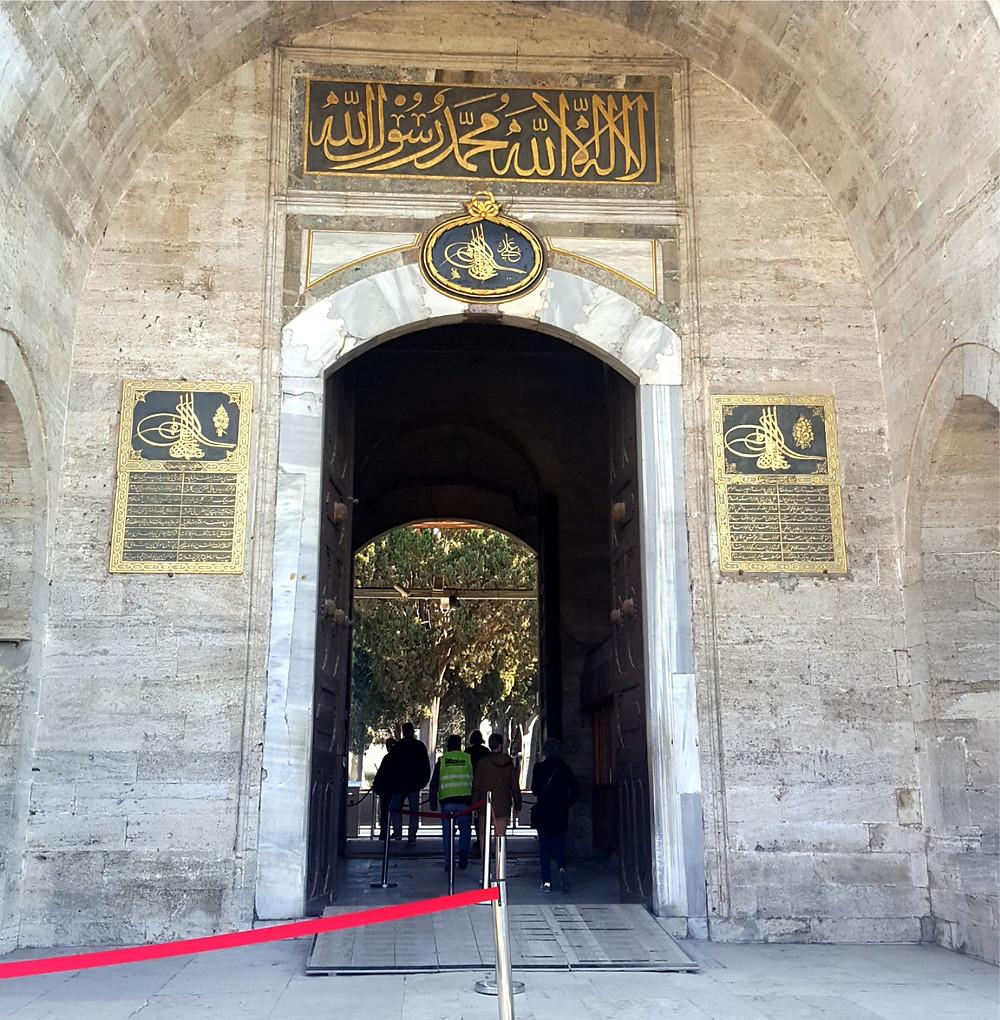 Entrance to Topkapi Palace Museum