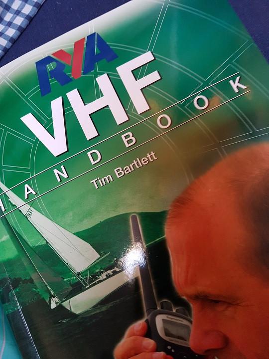 RYA VHF Radio Handling course booklet