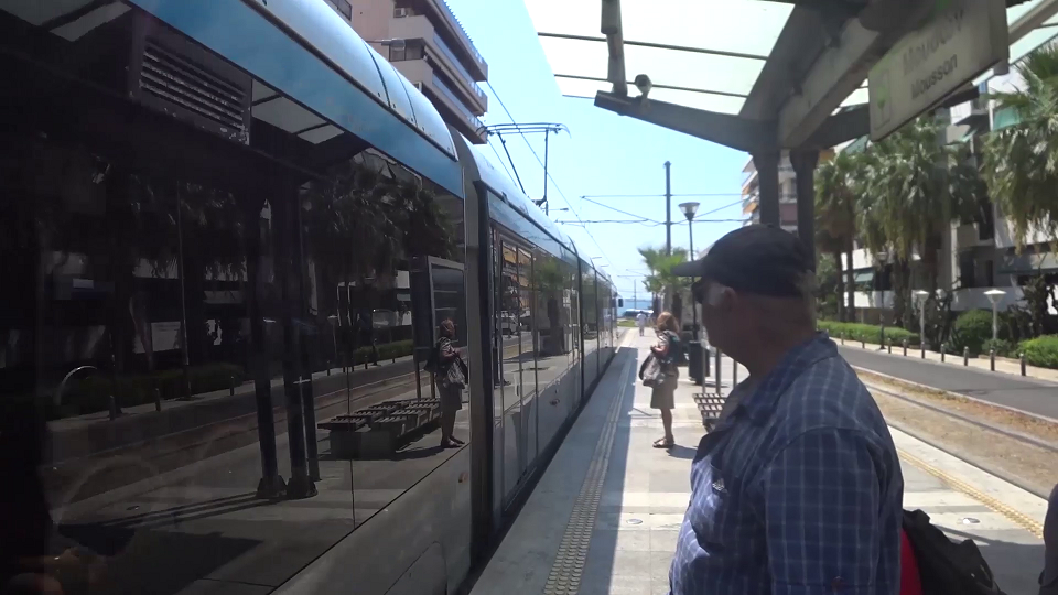 Tram in Athens
