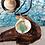 Thumbnail: Seaglass & Silver Fish pendant