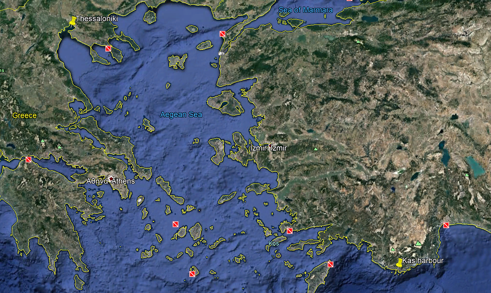 It's a long way from Kas to Thessaloniki
