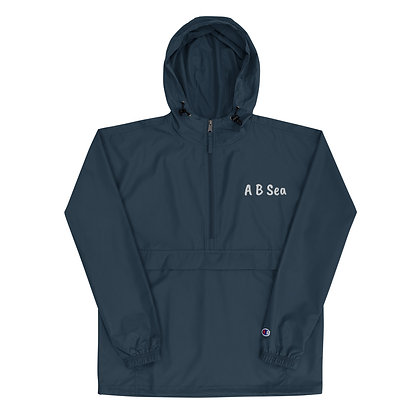 Embroidered Champion Packable Jacket with A B Sea Logo