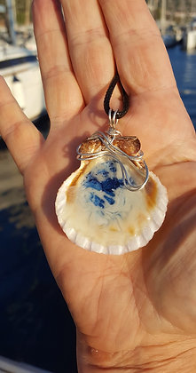 Ocean Waves Rock Pool pendant