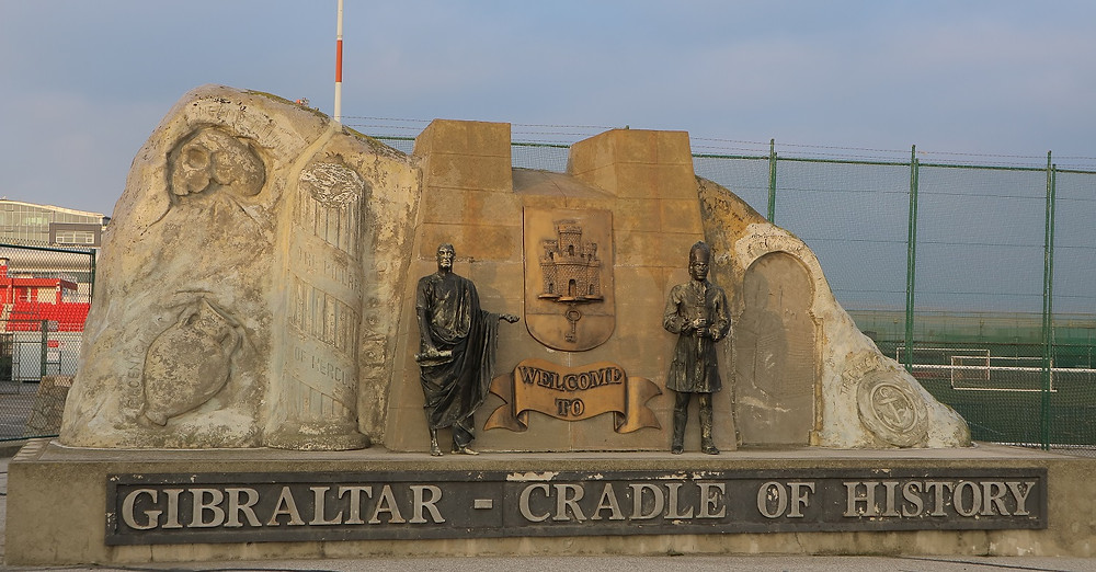 Apparently Gibraltar is the cradle of history!