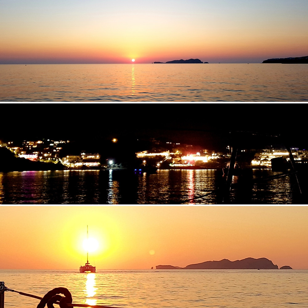 Sunsets at Cala Tarida, Ibiza
