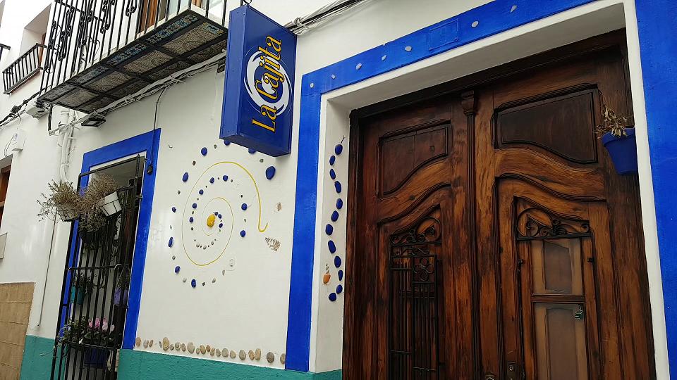 La Cajita Azul restaurante in Javea old town