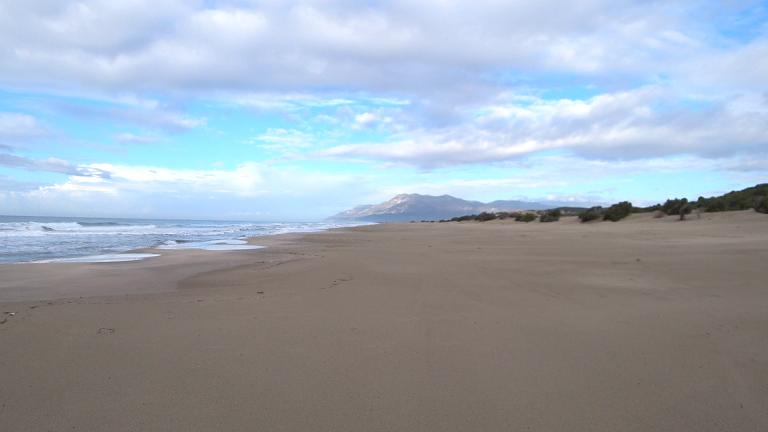 Patara's long beach