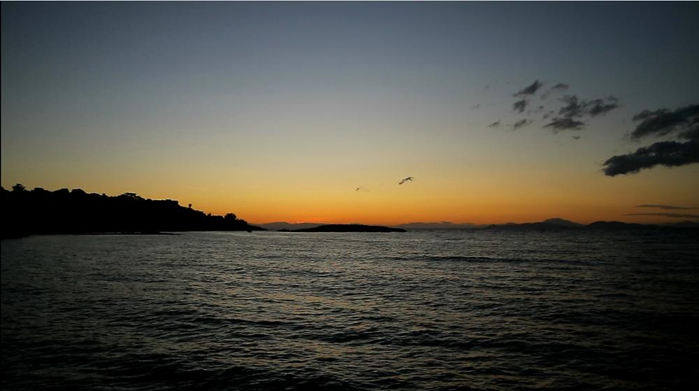 Saturday's spectacular sunset