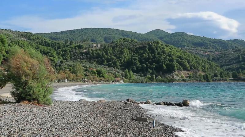 Sipiada beach