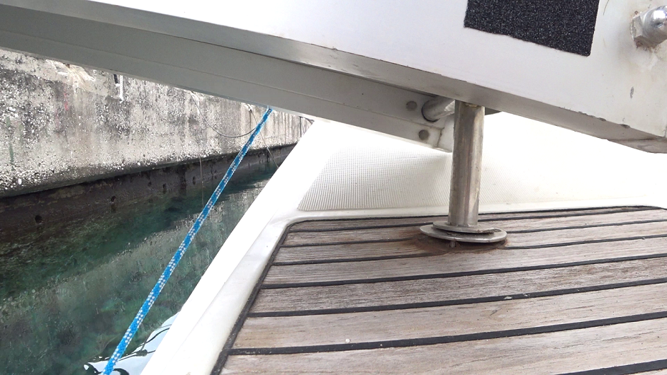Problem with the passerelle