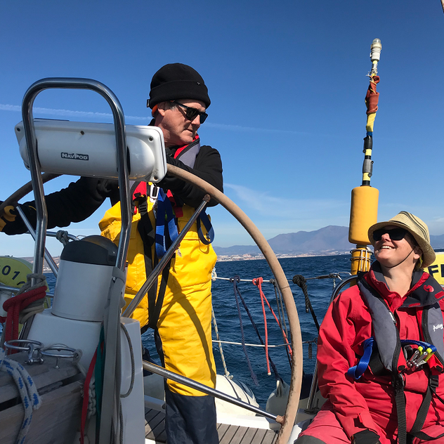 Learning to sail in Gibraltar