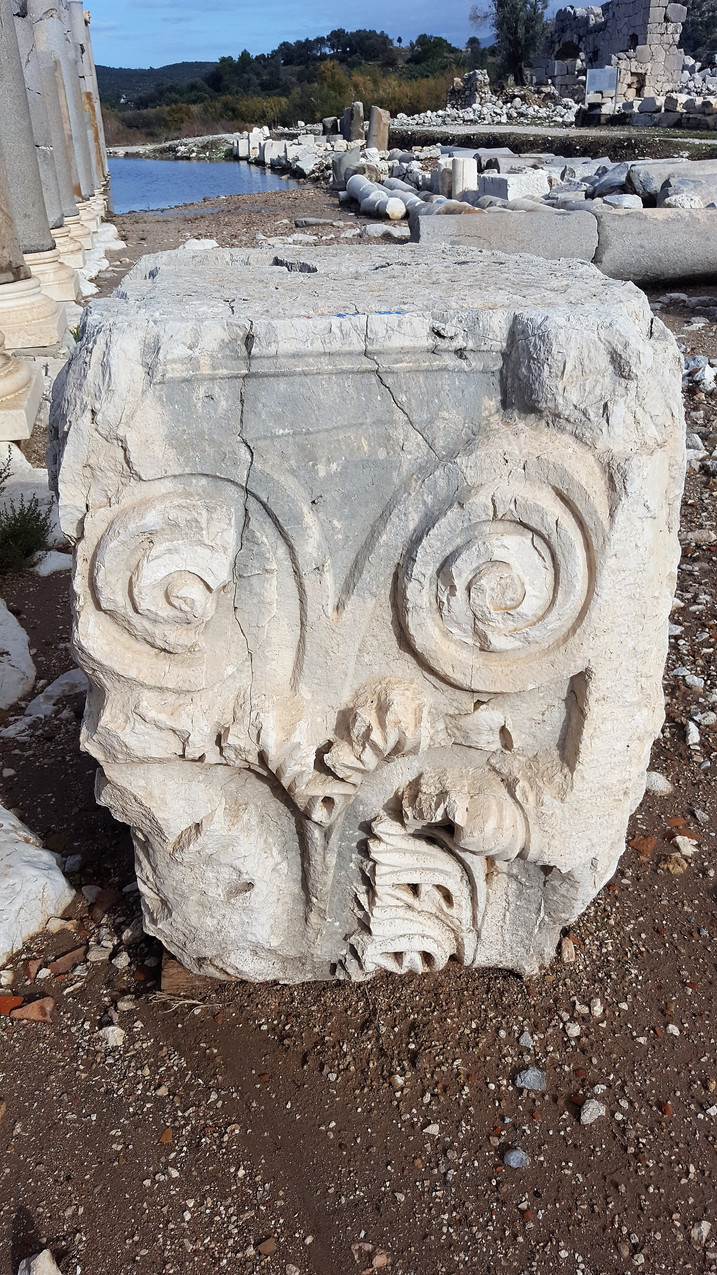 Patara carved block 50