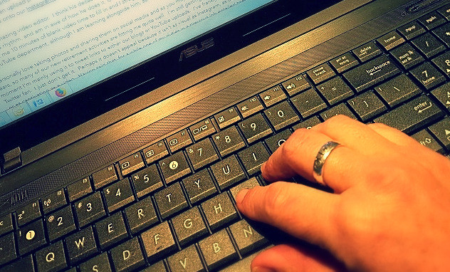 Keyboard and hand