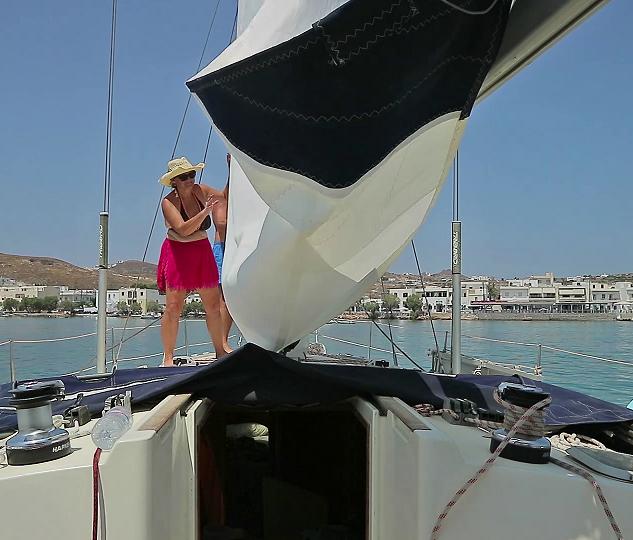 Dropping the sail again