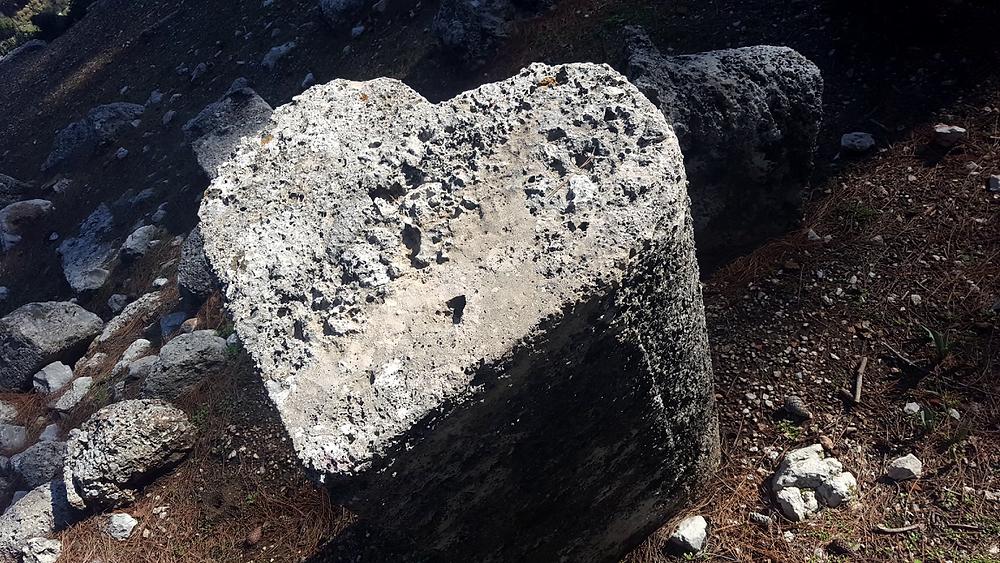 Heart shaped pillar