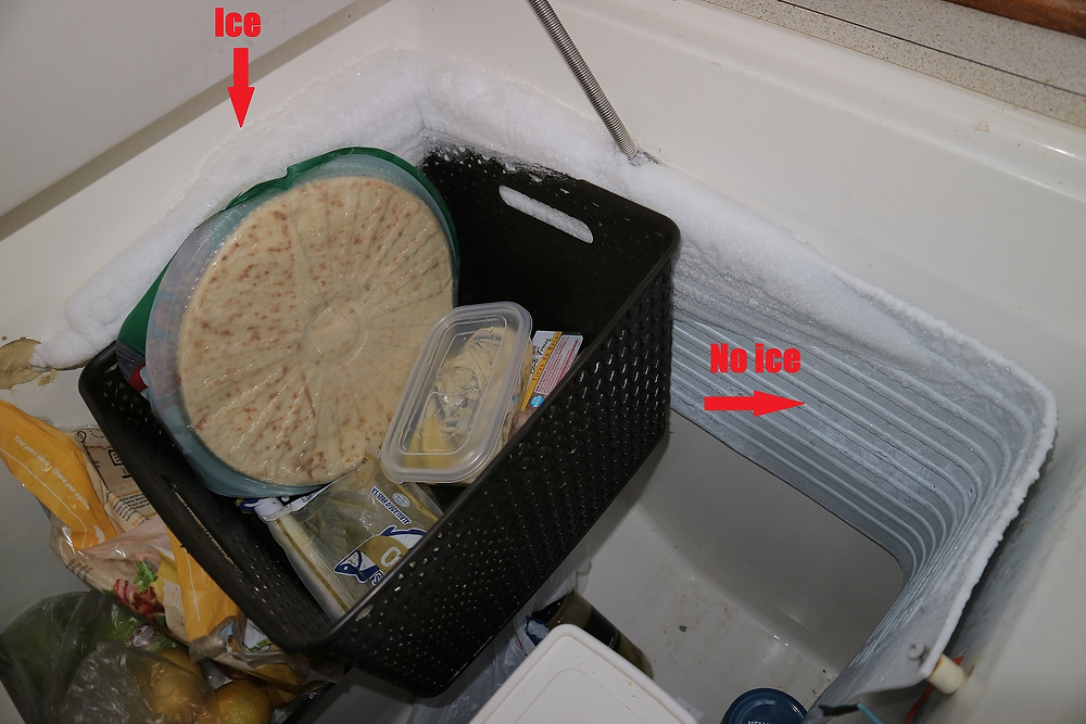 Our fridge is defrosting!