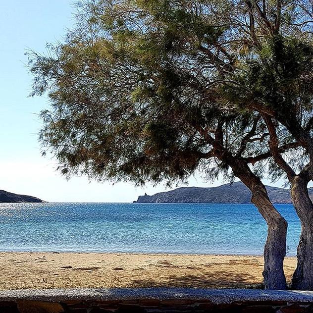 Beautiful beach on Ios Island where we'r