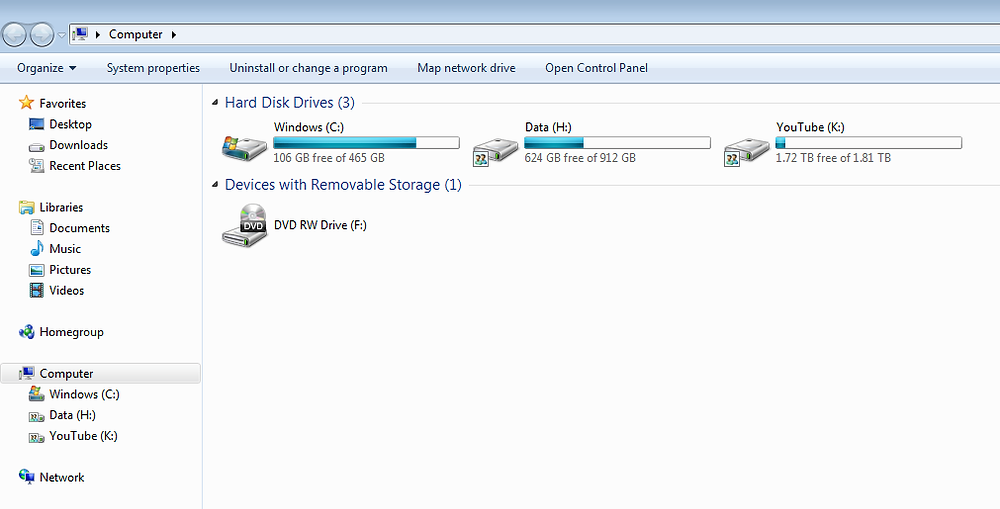 Format the hard drive