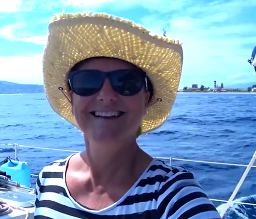 Sailing on our yacht1 italy