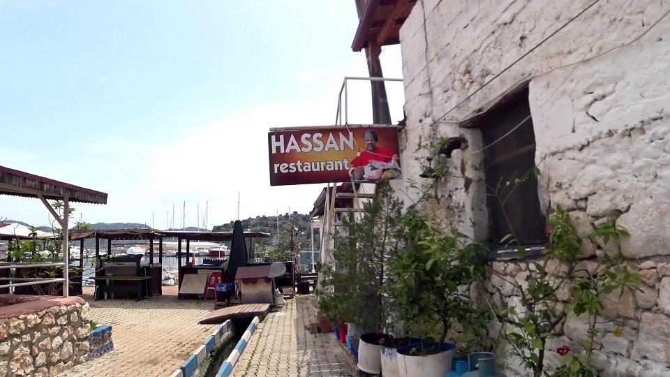 Hassan restaurant, Kaleucagiz