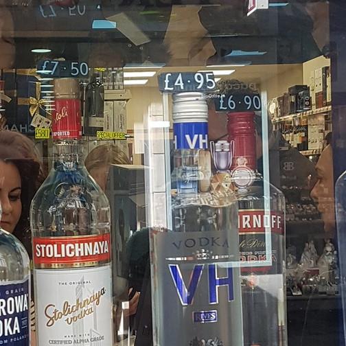 Tax free booze!