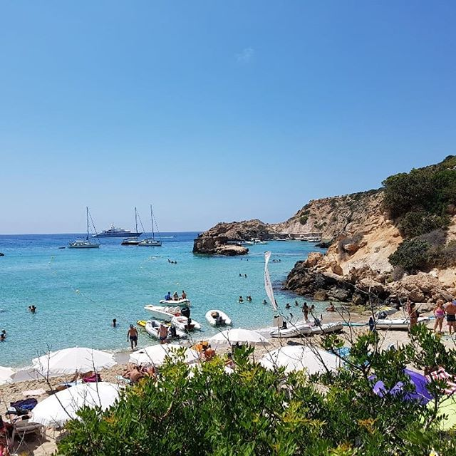 Cala Tarida__#sailingabsea #sailing #bea