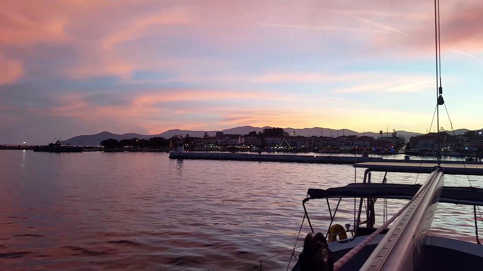 Sunset at Samos