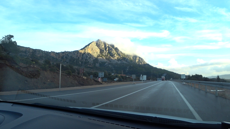 Driving to Kemer